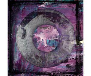 Abstract circle purple